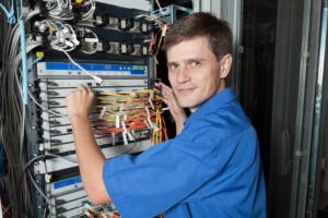 Handvenenerkennung in IT-Räumen