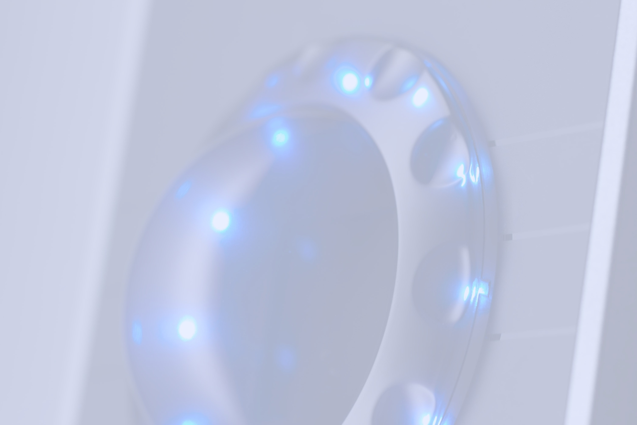 Handvenenerkennung mit blauem LED_Kranz