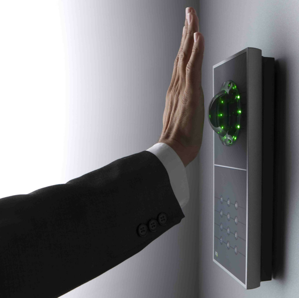 Hand vor Handvenenscanner